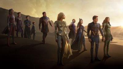Marvel deelt opnieuw beelden van aankomende actiefilm 'The Eternals'