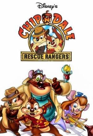 Knabbel en Babbel Rescue Rangers